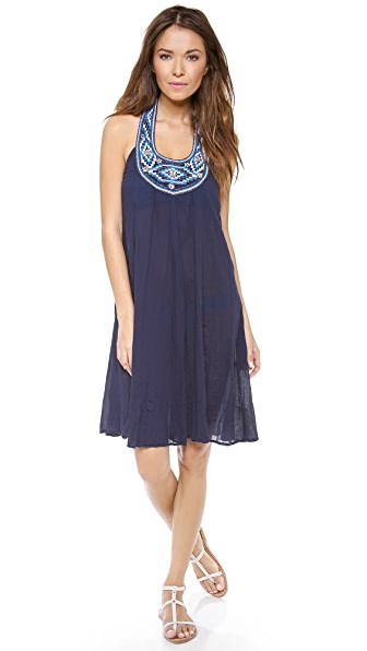 Shoshanna Maine Halter Cover Up Dress