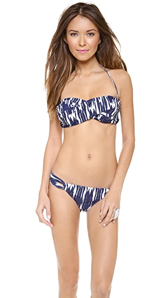 Shoshanna East Lake Ikat Bikini Top