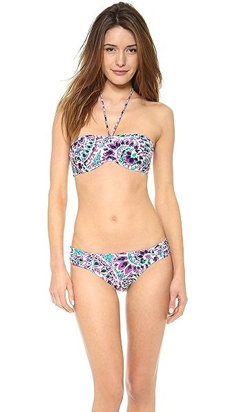 Shoshanna Pampelonne Paisley Bikini Top