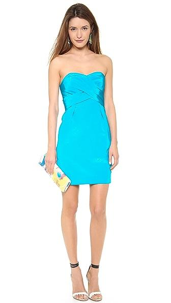 Shoshanna Kira Strapless Dress