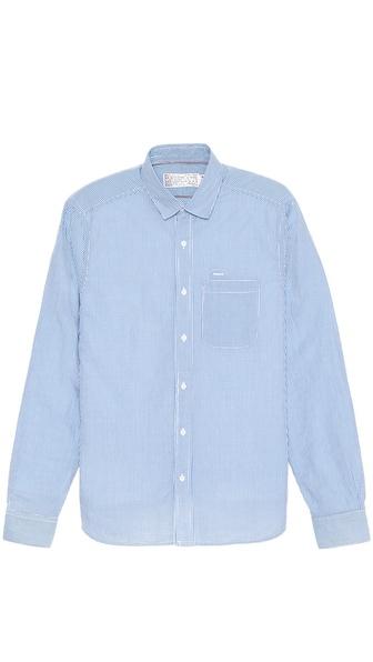 Shipley & Halmos Marine Pacific Gingham Shirt