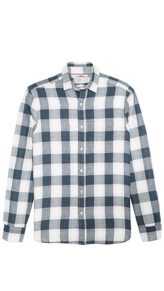 Shipley & Halmos Marine Metro Plaid Sport Shirt