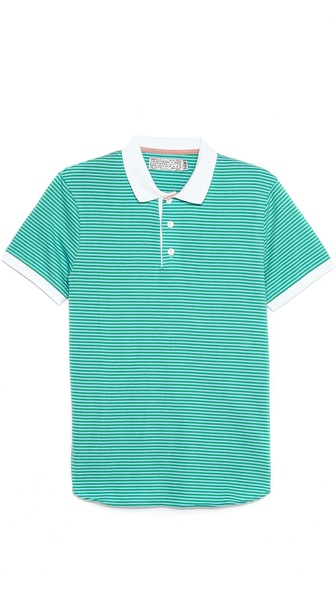 Shipley & Halmos Broome Bar Stripe Polo