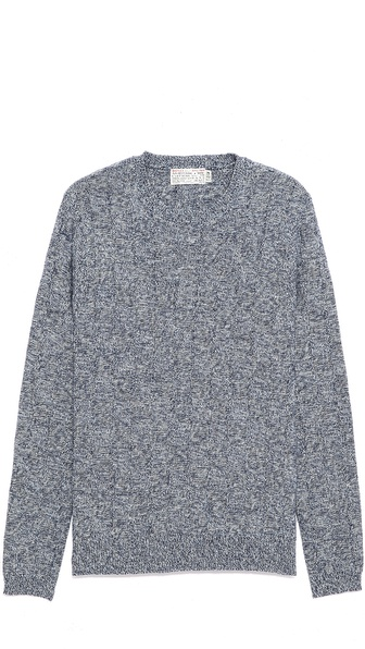 Shipley & Halmos Stephan Marled Crew Neck Sweater