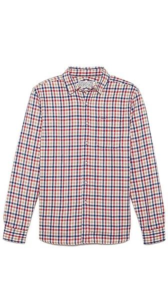 Shipley & Halmos Gingham Sport Shirt