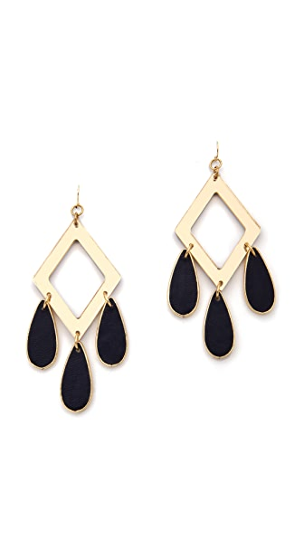 Sandy Hyun Tri Drop Earrings