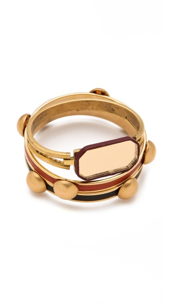 Sandy Hyun Deco Bangle Set