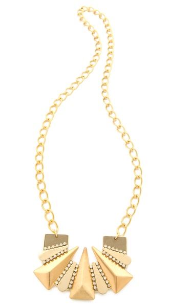 Sandy Hyun Deco Spike Necklace