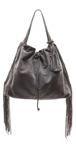 Simone Camille Crescent Suede Bag at Shopbop / East Dane