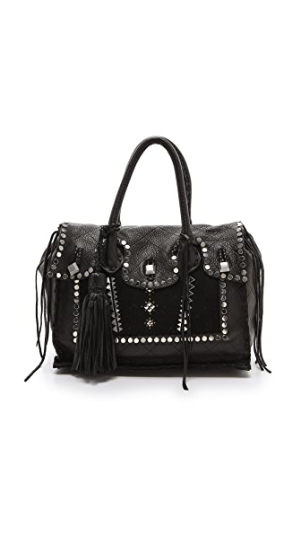 Simone Camille Studded Classic Satchel
