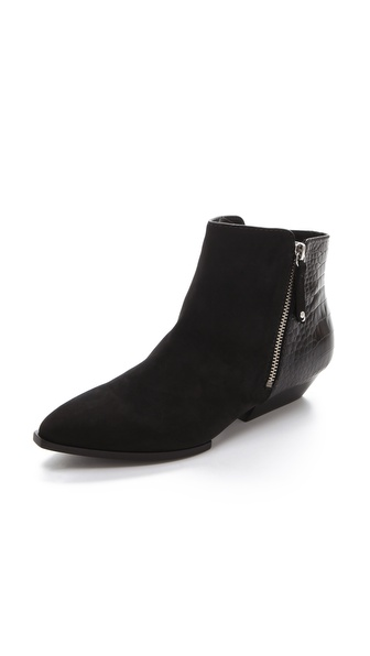 Sigerson Morrison Preita Outside Zip Booties