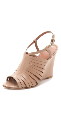 Shop Sigerson Morrison Strappy Wedge Sandals - Sigerson Morrison online - Footwear,Womens,Footwear,Sandals, at Lilychic Australian Clothes Online Store