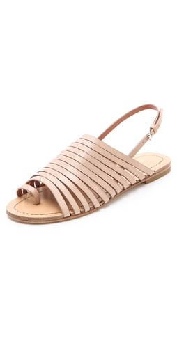 Shop Sigerson Morrison Flat Strappy Sandals - Sigerson Morrison online - Footwear,Womens,Footwear,Sandals, at Lilychic Australian Clothes Online Store