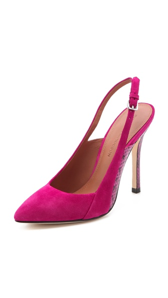 Sigerson Morrison Slingback High Heels