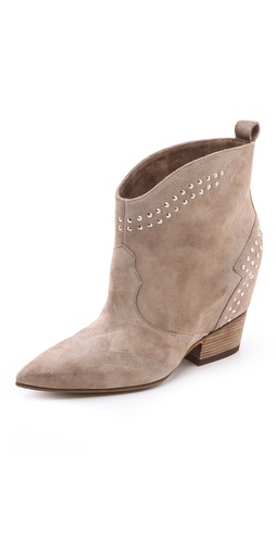 Sigerson Morrison Accent Studded Booties
