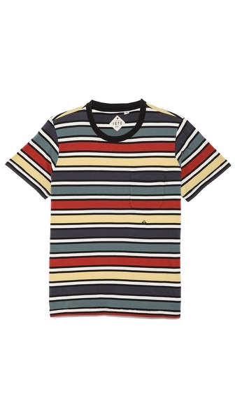 1670 HBC Acadia Multi Stripe T-Shirt