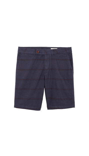 1670 HBC Wolfe Stripe Shorts