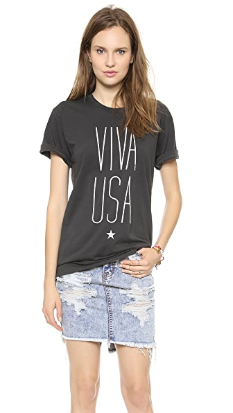 Sincerely Jules Viva USA Tee