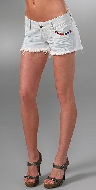 Siwy Camilla Cutoff Denim Shorts