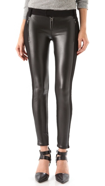 Siwy Bianca Seamed Coated Pants
