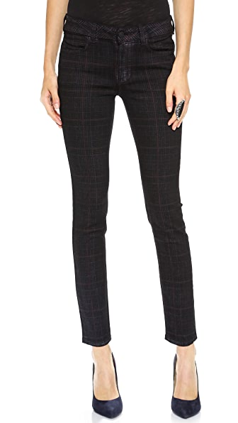 Siwy Ladonna Mid Rise Slim Crop Jeans