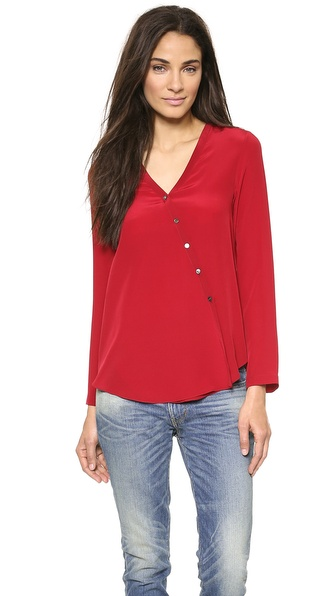 6397 Collarless Shirt