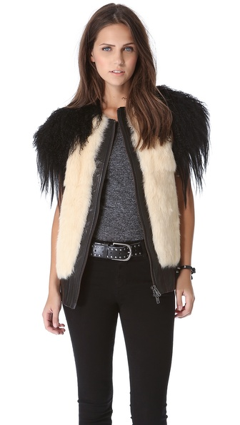 Skaist Taylor Mixed Fur Vest