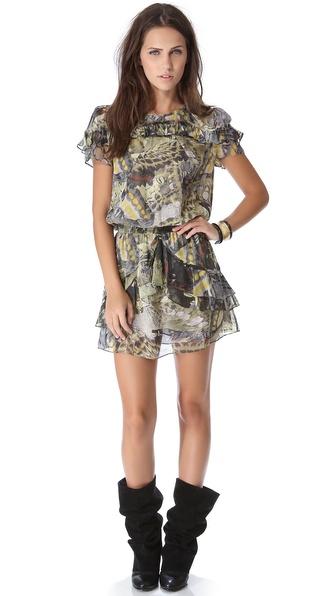 Skaist Taylor Short Ruffle Dress
