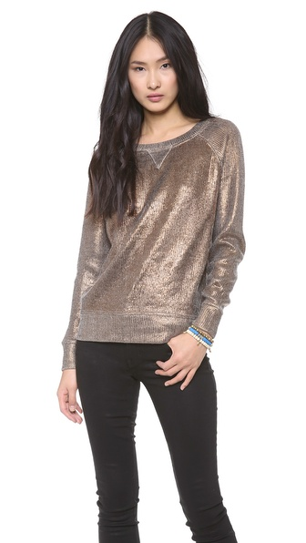 Skaist Taylor Metallic Sweater