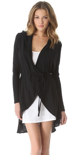 Shop Skin Hooded Wrap Cardigan - Skin online - Apparel,Womens,Lingerie,Robes, at Lilychic Australian Clothes Online Store