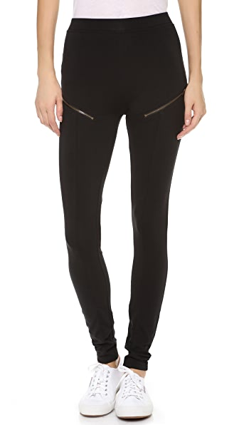 Skin Zip Leggings