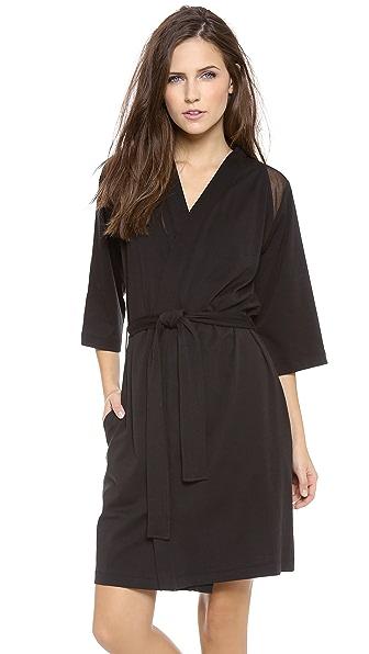 Skin Tulle Kimono Robe