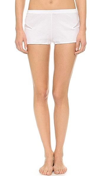 Skin Waves Rib Tulle Shorts