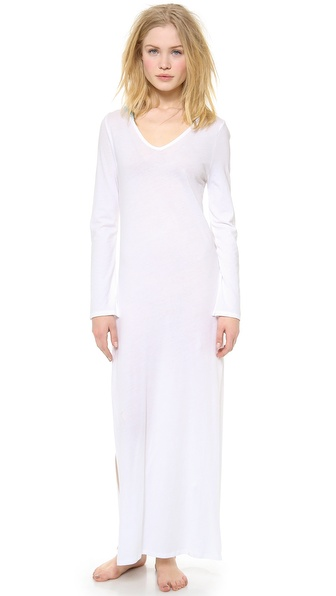 Skin Hooded Caftan