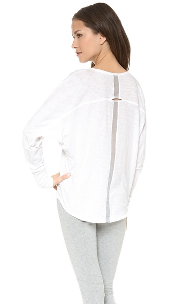 Skin Open Back Dolman Top