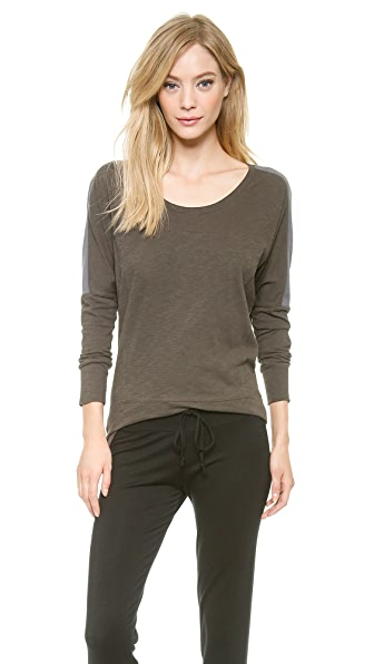 Skin Dolman Patch Top