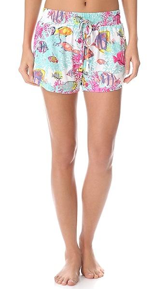 Sleep'n Round Pajama Shorts