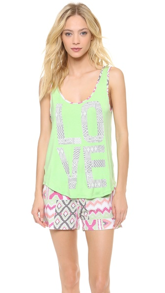 Sleep'n Round Love Tank Top