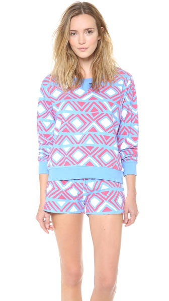 Sleep'n Round Long Sleeve Top