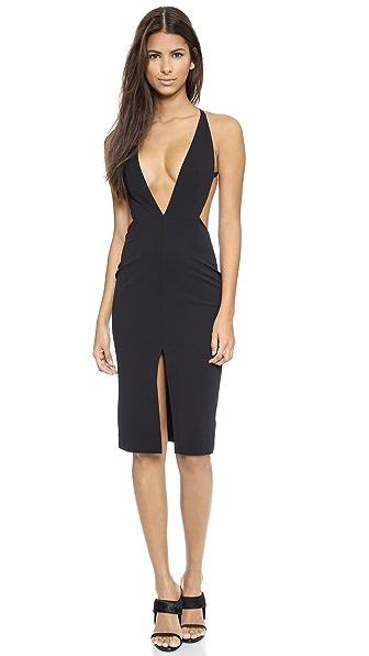Kupi Solace London haljinu online i raspordaja za kupiti Solace London Bacall Knee Length Dress Black online