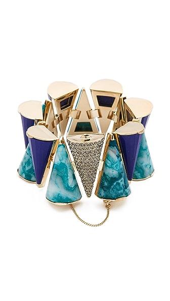 Sarah Magid Lazuli Pave Cone Bracelet