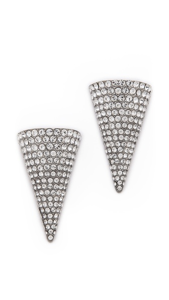 Sarah Magid Crystal Cone Stud Earrings