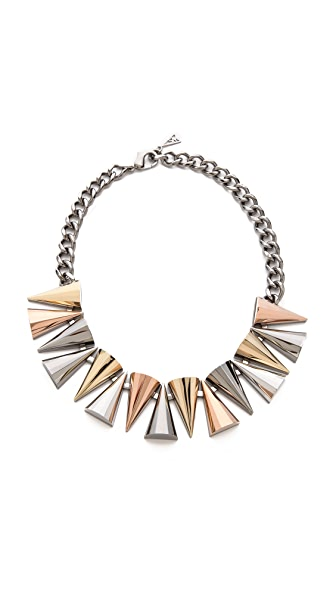 Sarah Magid Large Mixed Metal Cone Necklace