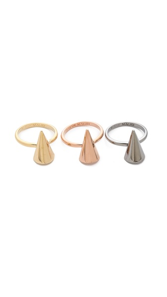 Sarah Magid Mini Metal Cone Rings