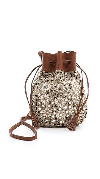 Star Mela Rani Embellished Pouch Handbag