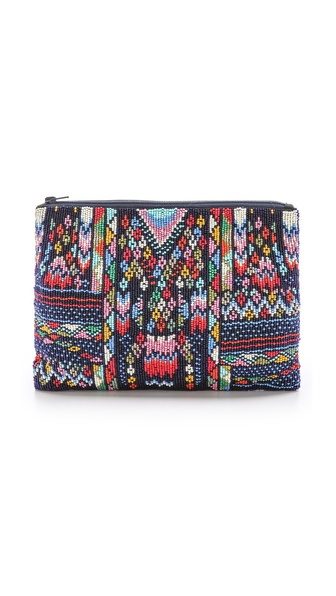 Star Mela Pari Bead Clutch
