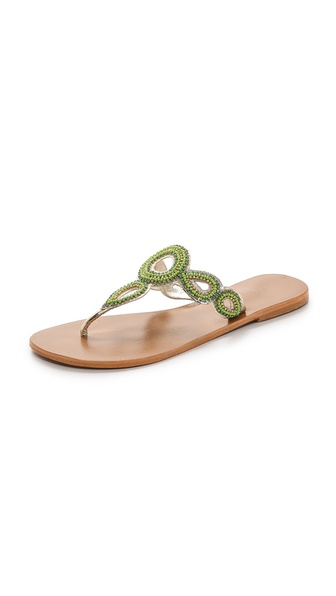 Star Mela Moni Beaded Sandals