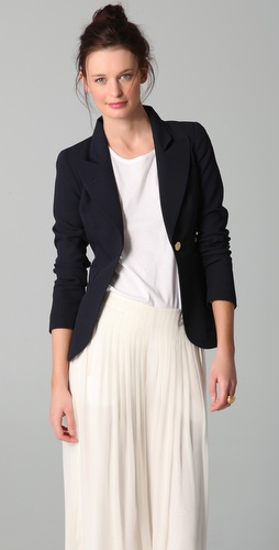 SMYTHE One Button Blazer at Shopbop / East Dane