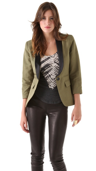 SMYTHE Two Tone Blazer