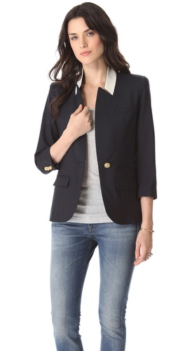SMYTHE Flat Lapel Blazer at Shopbop.com